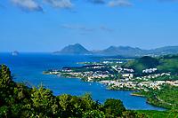 France, Martinique, paysage entre Trois-Rivières et le Dimant // France, West Indies, Martinique, landscape between Trois-Rivières and the Diamant
