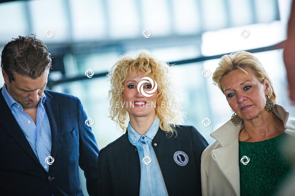 ROTTERDAM - Theater van de Klucht presenteert een nieuwe theaterproductie genaamd 'Boeing Boeing'. Met hier op de foto Bas Muijs, Femke van Assouw en Mariska van Kolck. FOTO LEVIN EN PAULA PHOTOGRAPHY VOF