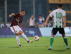 August 9, 2017 - Catania, CT, Italy - SUSO of Milan during the Pre-Season Friendly match between AC Milan and Villareal at Stadio Angelo Massimino on August 9, 2017 in Catania, Italy. (Credit Image: © Gabriele Maricchiolo/NurPhoto via ZUMA Press)