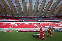 Vista interna do Beira Rio em 31 de fevereiro de 2014. O Estádio Beira Rio, que receberá jogos da Copa do Mundo de Futebol 2014, tem mais 97% da sua reforma concluída e re-inauguração agendada para 04 de abril de 2014. FOTO: Jefferson Bernardes/ Agência Preview