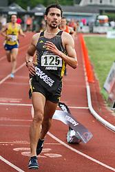 mens 5000 meters, Adrian Martinez Track Classic 2016, Alfredo Santana, adidas GSTC, wins