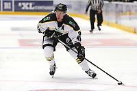 Ishockey , 15. september 2016 , Eliteserien , Get-ligaen , Stavanger Oilers - Sparta<br /> Dennis Løvold Sveum of Stavanger Oilers in action v Sparta. Foto: Andrew Halseid Budd , Digitalsport