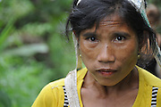 Portrait of a woman, Laos