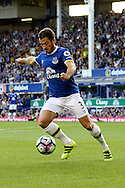 Leighton Baines of Everton in action. Premier league match, Everton v Middlesbrough at Goodison Park in Liverpool, Merseyside on Saturday 17th September 2016.<br /> pic by Chris Stading, Andrew Orchard sports photography.