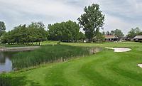 ZAANDAM - Hole 18 van de Zaanse Golfclub. FOTO KOEN SUYK