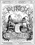 Punch or the London Charivari (front cover, 1 January 1849)