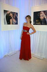 DELTA GOODREM attending the Tag Heuer party where an exhibition of photographs by Mary McCartney celebrating 15 exception women from 15 countries was unveiled at the Royal College of Arts, Kensington Gore, London on 8th February 2007.<br /><br />NON EXCLUSIVE - WORLD RIGHTS