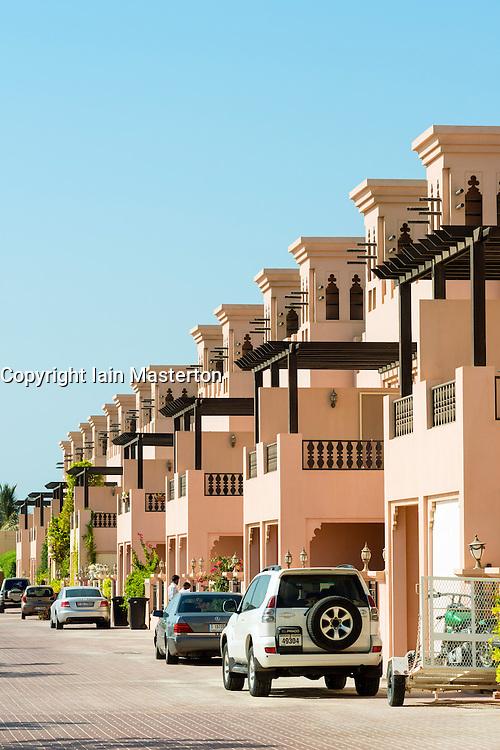 New luxury villas in Al Hamra property development  in Ras al Khaimah United Arab emirates UAE