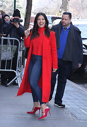 Gina Rodriguez arrives at The View to promote her new movie Miss Bala on January 22, 2019 in New York City. 22 Jan 2019 Pictured: Gina Rodriguez. Photo credit: RW/MPI/Capital Pictures / MEGA TheMegaAgency.com +1 888 505 6342