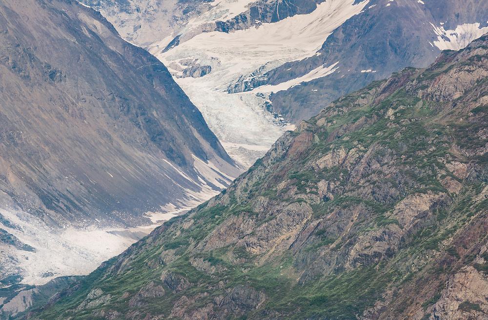 Detail of an Alaskan mountainside.