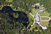 Nederland, Utrecht, Gemeente Baarn, 06-09-2010; paleis Soestdijk, voormalige residentie koningin Juliana, in beheer bij de Rijksgebouwendienst Soestdijk Palace, former residence of Queen Juliana, managed by the Government Buildings Department luchtfoto (toeslag), aerial photo (additional fee required) foto/photo Siebe Swart
