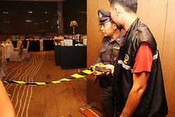 June 10, 2017 - Bangkok, Thailand - The dinners between 50 politicians who are the former member of the Thai parliament has been aborted by police and military's order. (Credit Image: © Thitinun Sampiphat/Pacific Press via ZUMA Wire)