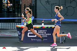 TCS New York City Marathon 2019<br /> Abbott elite hydration Des Linden, Brooks, Sinead Diver, AUS, Nike