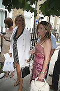 EMILY MAITLIS AND ANDREA CATHERWOOD. The Spectator At Home. Doughty St. 6 July 2006. ONE TIME USE ONLY - DO NOT ARCHIVE  © Copyright Photograph by Dafydd Jones 66 Stockwell Park Rd. London SW9 0DA Tel 020 7733 0108 www.dafjones.com