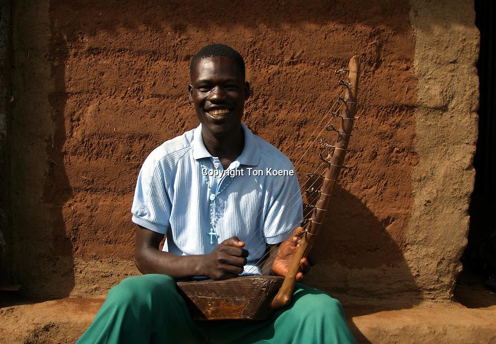 harp in Uganda