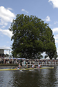 Henley, Great Britain. Final,  Stewards' Challenge Cup,   Leander Club and Molesey BC, Bow Steve WILLIAMS, Peter REED, Tom JAMES and Andy TWIGGS-HODGE,  at the 2007 Henley Royal Regatta,  Henley Reach, England 08/07/2007  [Mandatory credit Peter Spurrier/ Intersport Images] Rowing Courses, Henley Reach, Henley, ENGLAND . HRR.