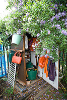 packing case as an allotment shed