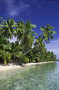 Tekopua Island, Aitutaki, Cook Islands<br />
