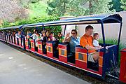 Miniature Railroad, Travel Town, Griffith Park, Los Angeles, California, USA