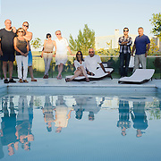 My parent´s (2nd couple left to right) and I went to Jorge and Silvia Eliaschev´s house (3rd couple left to right) located in El Tigre, about an hour from Buenos Aires. Roberto, Beatriz and Dan (1st family on the left) , Daniel and Jose Mugrabi (right) were also enjoying the day.