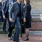NLD/Amsterdam/20101012 - Herdenkingsdienst overleden Antonie Kamerling, partner Patty Zomer