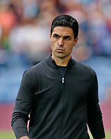 Football - 2021 / 2022 Premier League - Burnley vs. Arsenal<br /> <br /> Arsenal head coach Mikel Arteta before the game, at Turf Moor.<br /> <br /> <br /> COLORSPORT/ALAN MARTIN