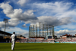 Pakistan's Sohail Khan in the field during day three of the Fourth Investec Test match at The Kia Oval, London.