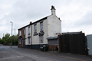Closed down Albion Vaults pub in an Industrial Estate in Nechells, the inner city area of Birmingham which is virtually deserted under Coronavirus lockdown on 29th April 2020 in Birmingham, England, United Kingdom. Coronavirus or Covid-19 is a new respiratory illness that has not previously been seen in humans. While much or Europe has been placed into lockdown, the UK government has put in place more stringent rules as part of their long term strategy, and in particular social distancing.