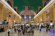 Main terminal at Grand Central Station in Manhattan.