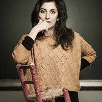 Brussels, Belgium 29 January 2014<br /> Researcher Valentina Signore.<br /> Photo: Ezequiel Scagnetti