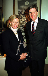 SIR TOBIAS & LADY CLARKE at an exhibition in London on 15th November 1999.<br /> MZB 8