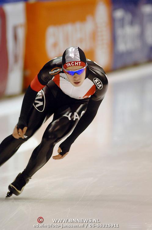NLD/Heerenveen/20060122 - WK Sprint 2006, 2de 1000 meter heren, Vladimir Sherstyuk