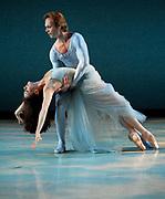 GASTON DE CARDENAS / EL NUEVO HERALD -- MIAMI, FL --  4/17/2009 -- Jennifer Kronenberg, and Dieder Bramaz principle dancers  in Serenade part of Miami City Ballet presention of Open Barre 3 a sneak preview into the 2009-2010 season at the Miami City Ballet Studios on Miami Beach.