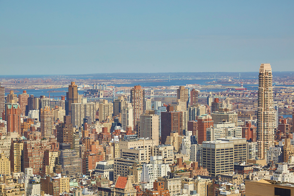 View from 150 West 56th Street, 59th floor