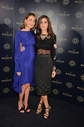 Left to right, MARIA-CRISTINA BUCCELLATI and ELISA SEDNAOUI at an evenig of Jewellery & Photography to launch the Buccellati 'Opera Collection' held at Spencer House, London on 21st October 2015.