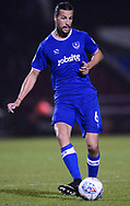 Christian Burgess of Portsmouth in action.EFL Skybet Football League one match, Northampton Town v Portsmouth at the Sixfields Stadium in Northampton on Tuesday 12th September 2017. <br /> pic by Bradley Collyer, Andrew Orchard sports photography.
