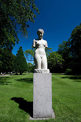 Statue in Tradgardsforeningen Park in Gothenburg Sweden