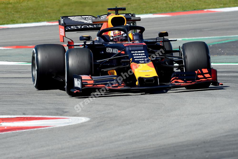 Max Verstappen (Red Bull-Honda) during practice before the 2019 Spanish Grand Prix at the Circuit de Barcelona-Catalunya. Photo: Grand Prix Photo