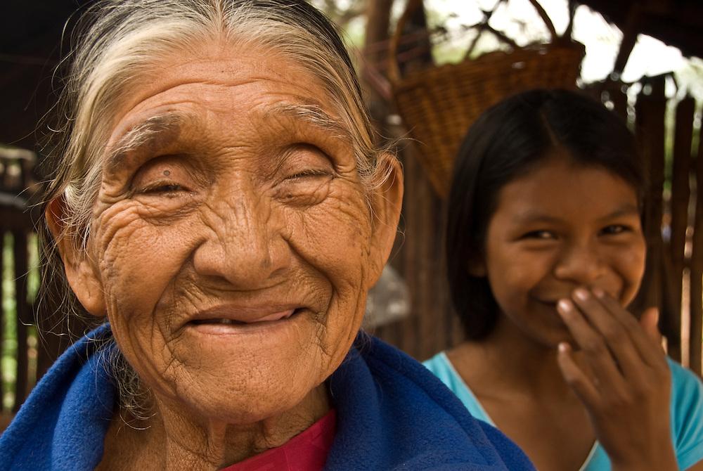 Bolivia. Remote Guarani tribal indians.