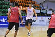 Sassari 14 Agosto 2012 - Qualificazioni Eurobasket 2013 -Allenamento<br /> Nella Foto : DANILO GALLINARI<br /> Foto Ciamillo
