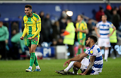 West Bromwich Albion's Jacob Murphy celebrates at the final whistle during the Sky Bet Championship match at Loftus Road, London.