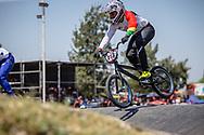 #413 (QUINTANILLA CUENCA Jaime Roberto) BOL  at Round 9 of the 2019 UCI BMX Supercross World Cup in Santiago del Estero, Argentina