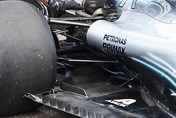 May 23, 2018 - Montecarlo, Monaco - Mercedes W09 Hybrid EQ Power+ team Mercedes GP mechanical detail of the rear suspensions  during the Monaco Formula One Grand Prix  at Monaco on 23th of May, 2018 in Montecarlo, Monaco. (Credit Image: © Xavier Bonilla/NurPhoto via ZUMA Press)