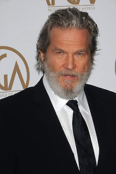 Arrivals at the Producer's Guild Awards in Los Angeles, California. 28 Jan 2017 Pictured: Jeff Bridges. Photo credit: ZUMA Press / MEGA TheMegaAgency.com +1 888 505 6342