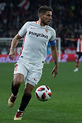 January 16, 2019 - Sevilla, Andalucia, Spain - Carrico of Sevilla FC drive the ball during the Copa del Rey match between Sevilla FC v Athletic Club at the Ramon Sanchez Pizjuan Stadium on January 16, 2019 in Sevilla, Spain (Photo by Javier Montaño/Pacific Press) (Credit Image: © Javier MontañO/Pacific Press via ZUMA Wire)