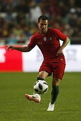 June 7, 2018 - Lisbon, Portugal - Portugal's defender Cedric Soares  in action  during the FIFA World Cup Russia 2018 preparation match between Portugal vs Algeria in Lisbon on June 7, 2018. (Credit Image: © Carlos Palma/NurPhoto via ZUMA Press)
