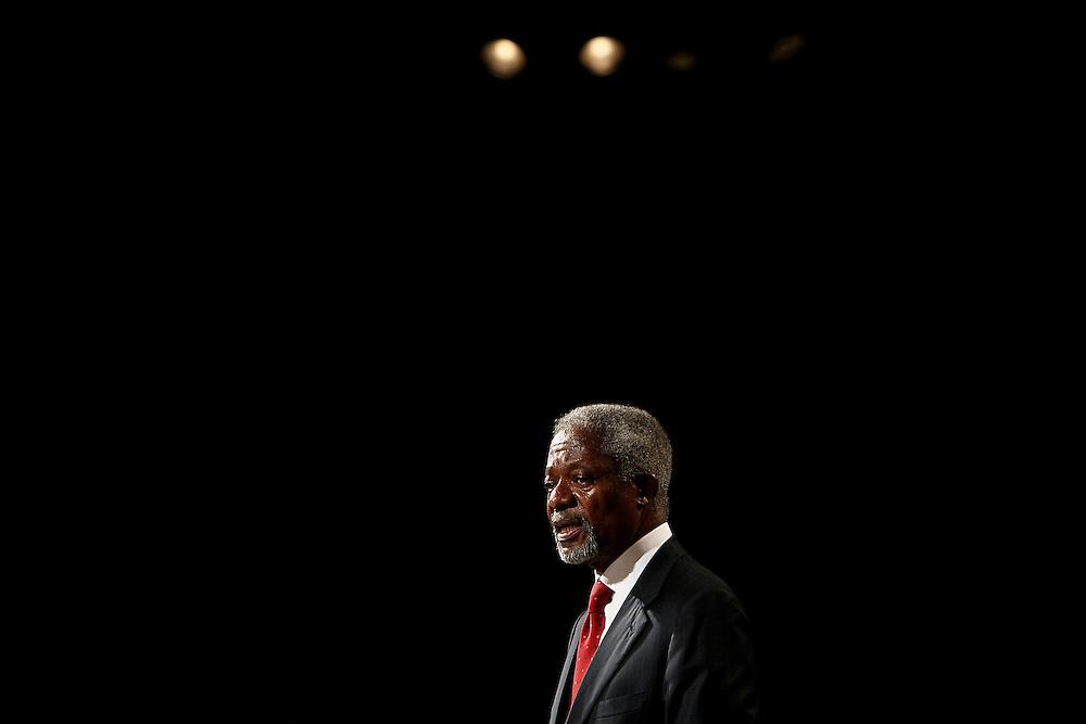 Portugal - Lisboa - 07 November 2007 - European Development Days - Special Adress - Kofi Annan Chairman of the Global Humanitarian Forum © EC
