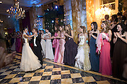 STEPHANE BERN AND MARIA ABOU NADER LEAD DANCING , Crillon Debutante Ball 2007,  Crillon Hotel Paris. 24 November 2007. -DO NOT ARCHIVE-© Copyright Photograph by Dafydd Jones. 248 Clapham Rd. London SW9 0PZ. Tel 0207 820 0771. www.dafjones.com.