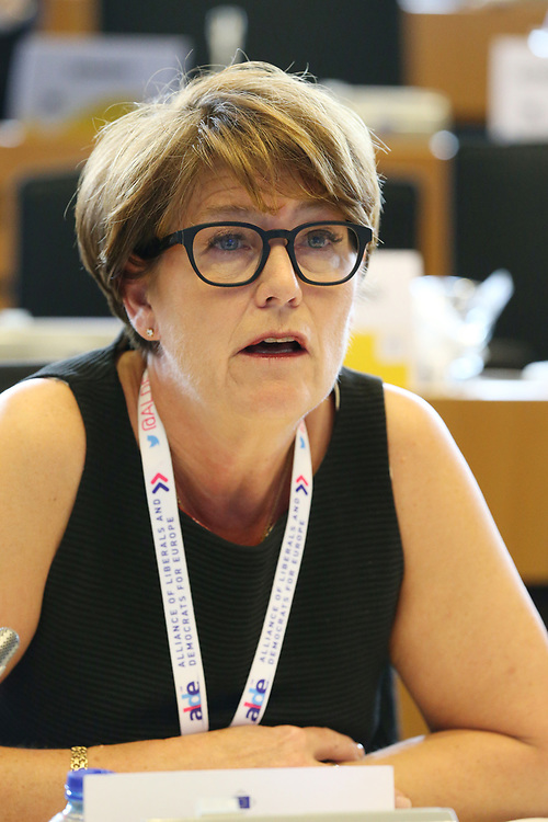 11 May 2017, 123rd Plenary Session of the European Committee of the Regions <br /> Belgium - Brussels - May 2017 <br /> <br /> Madam CARLEFALL LANDERGRENUlrika, Member of Kungsbacka Municipal Council, Sweden<br /> <br /> © European Union / Patrick Mascart