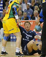 Håndball,<br /> Handball Champions League Finale <br /> Flensburg Handewitt - Pivovarna Celje<br /> Johnny Jensen,<br /> Foto: Digitalsport